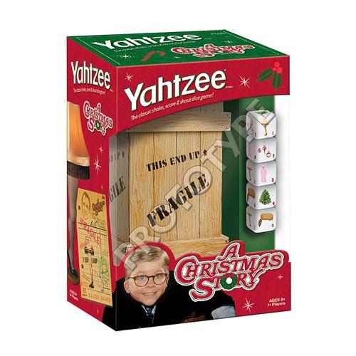 A Christmas Story Edition Yahtzee Game