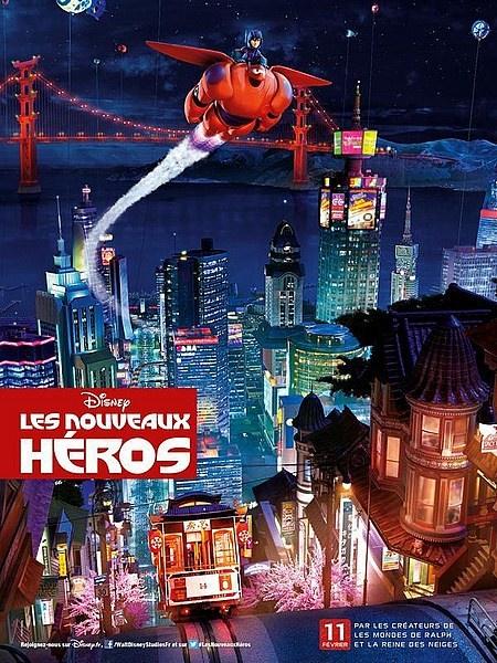 'Big Hero 6' International Poster
