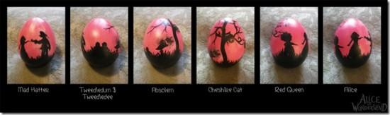Alice in Wonderland Easter Egg