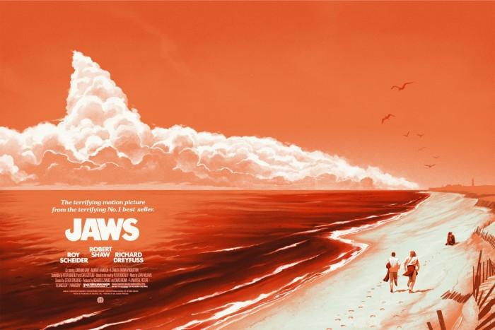 Phantom City Creative's Jaws poster print variant