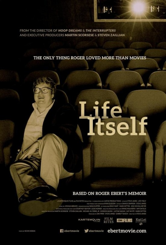 Theatrical poster for 'Life Itself