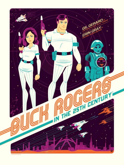 Buck Rogers in the 25th Century Poster by Dave Perillo