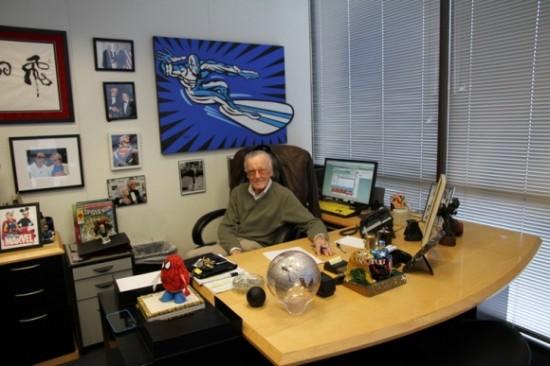 STAN LEE'S OFFICE