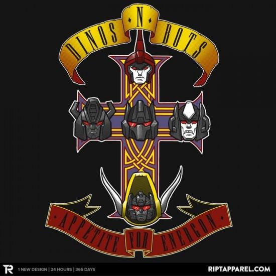 Dinos & Bots t-shirt