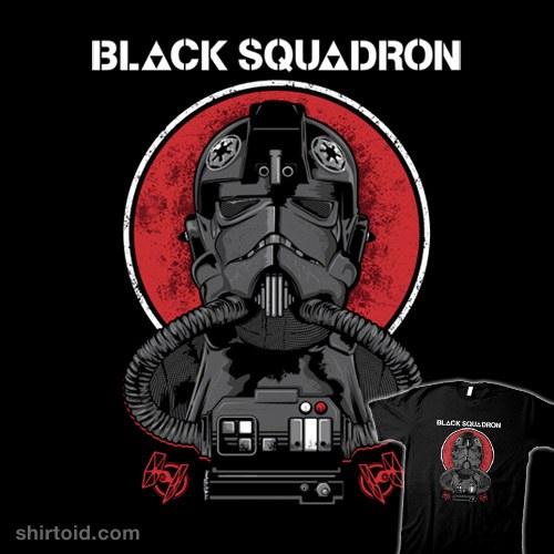 Black Squadron t-shirt