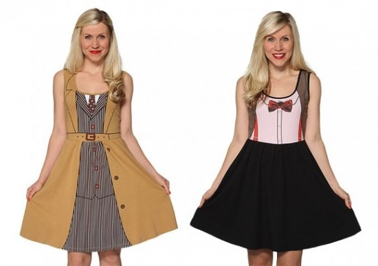 HER UNIVERSE's DOCTOR WHO DRESSES