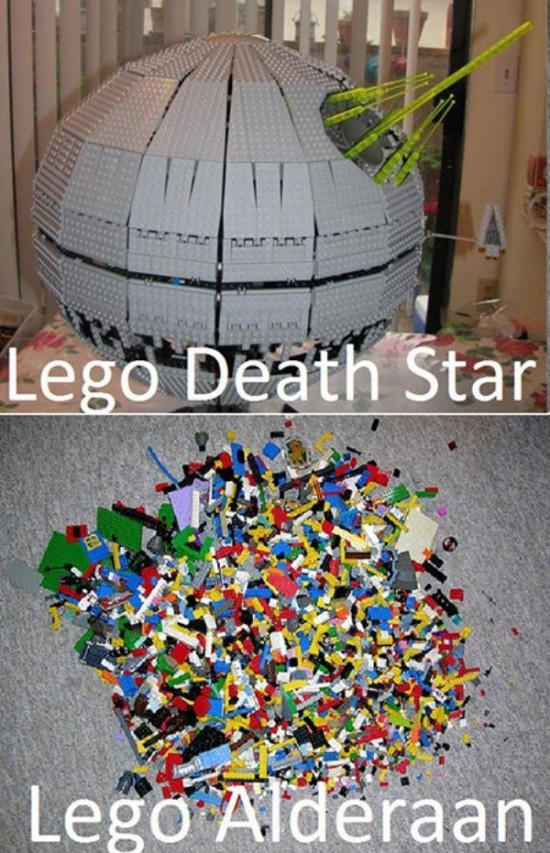 Epic Star Wars Moments Captured in LEGO