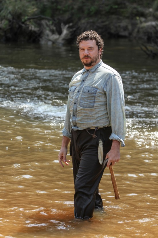 Danny McBride in James Franco's 'As I Lay Dying'