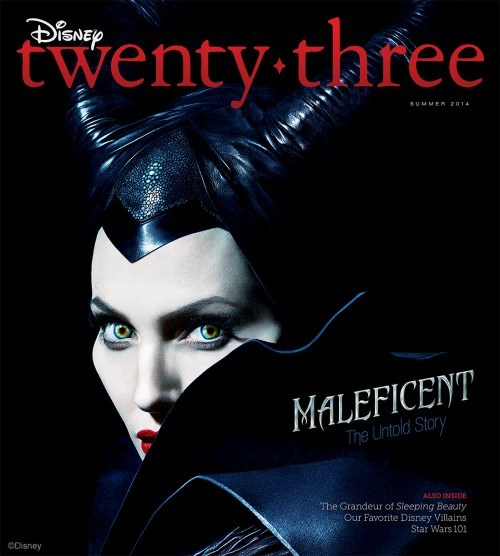Maleficent d23 cover