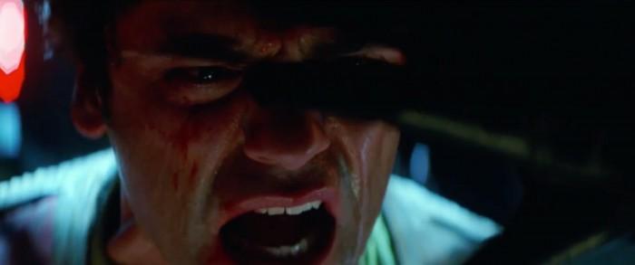 Kylo Ren tortures poe dameron Star Wars: the force awakens