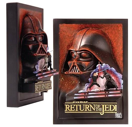 Star Wars Return of the Jedi Mini Movie Poster Sculpture