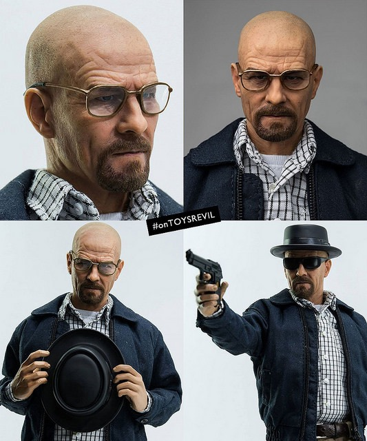 1/6th scale Breaking Bad Heisenberg collectible by Threezero