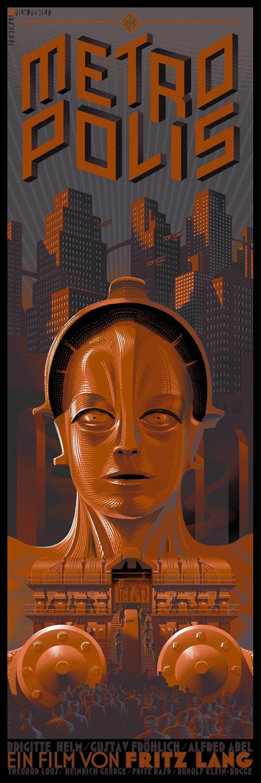 Laurent Durieux's Metropolis Poster