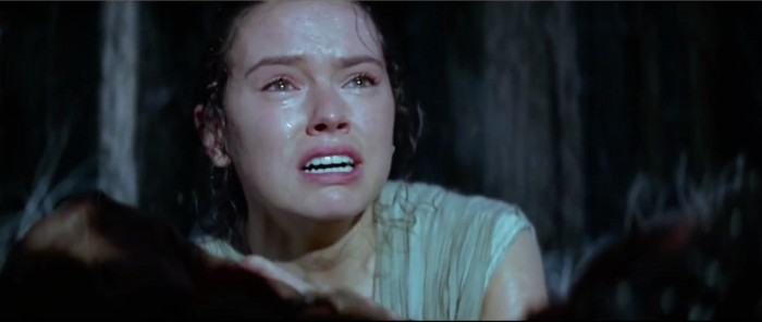 rey crying the force awakens