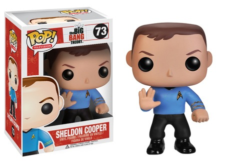 FUNKO WILL RELEASE POP! TELEVISION: BIG BANG THEORY STAR TREK figure