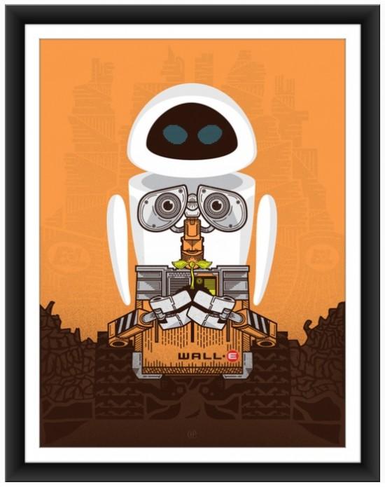 Harlan Elam Delivers A Fantastic Print For Pixar's 'Wall-E'