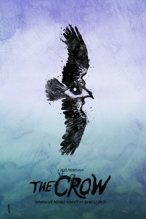 The Crow poster by Daniel Norris