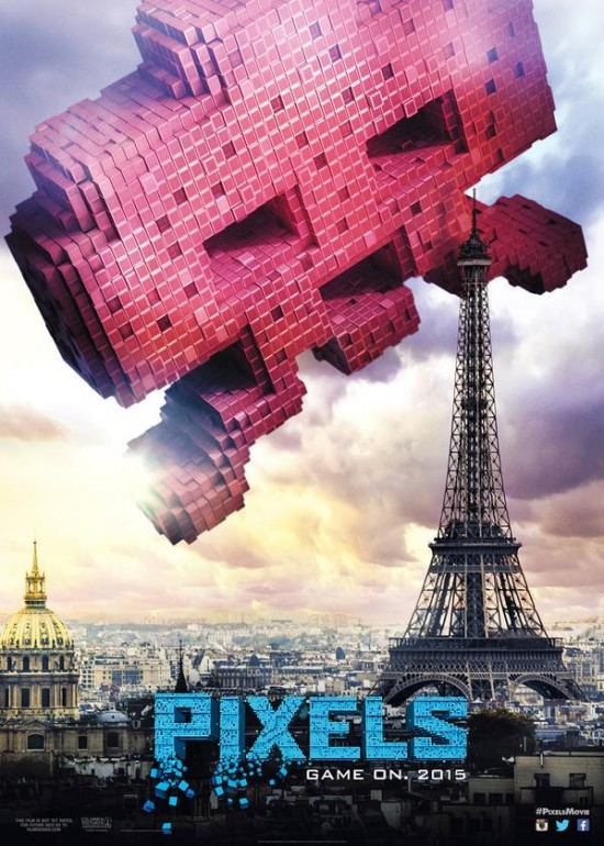 Space Invaders Pixels poster