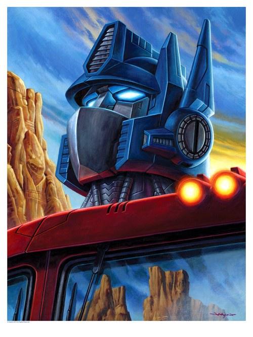 Transformers Prints by Jason Edmiston