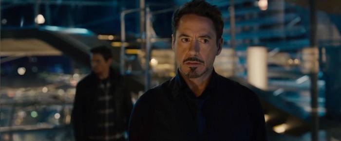 Robert Downey Jr in Avengers: Age of Ultron
