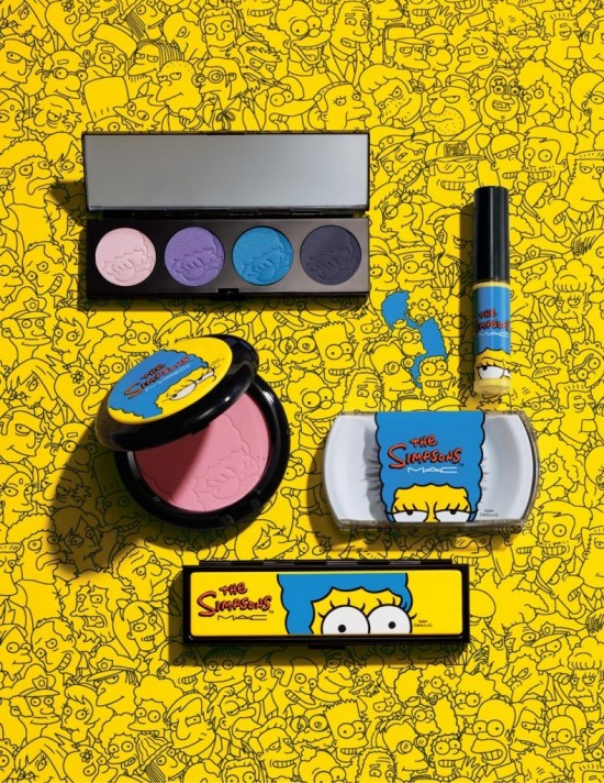 San Diego Comic-Con Will Debut Marge Simpson's Own Makeup Line From MAC Cosmetics