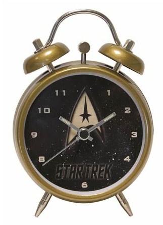 Star Trek Command Insignia Emblem Mini Twin Bell Alarm Clock