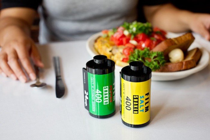 35mm Film Canister Salt and Pepper Shakers