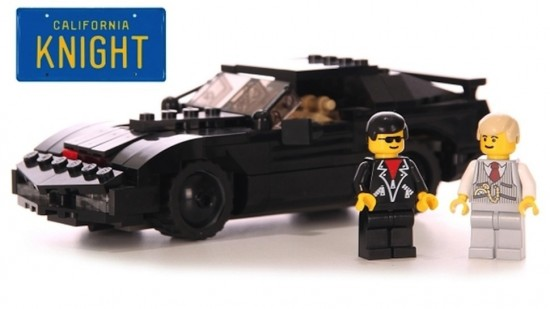 Knight Rider Lego Set