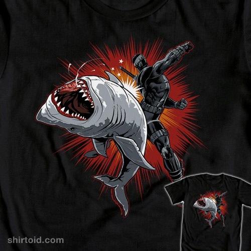 Snake Eyes Shark Punch t-shirt