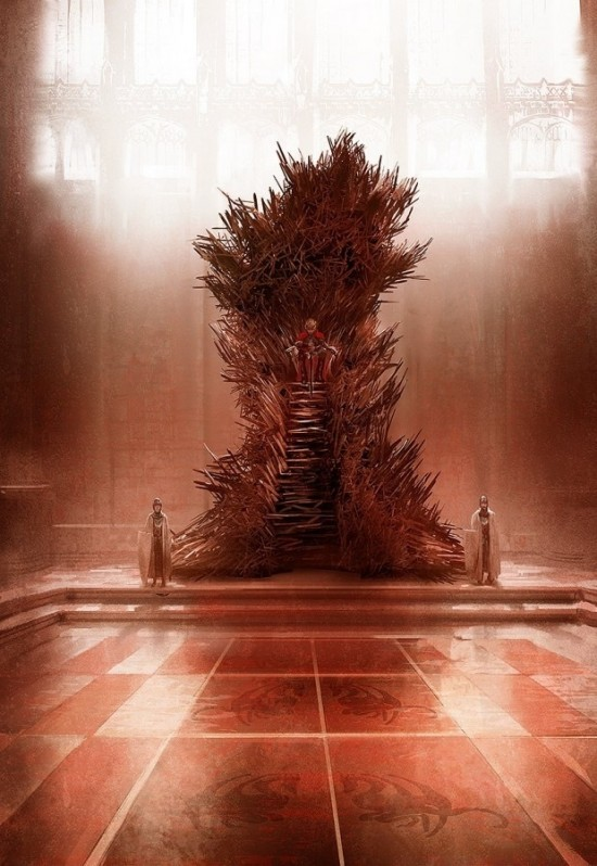 The Real Iron Throne From