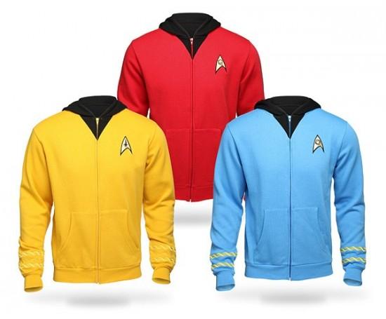 Star Trek TOS Uniform Hoodies