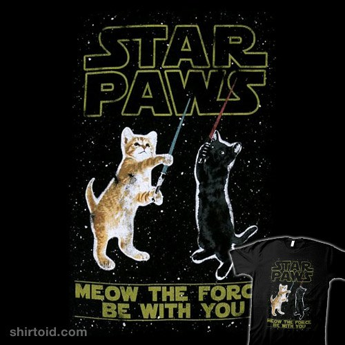Star Paws t-shirt