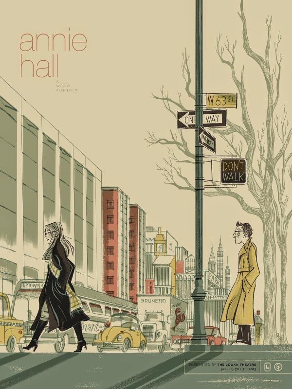 ANNIE HALL poster by Anne Benjamin