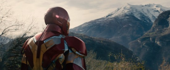 Avengers: Age of Ultron: Iron Man in the mountains