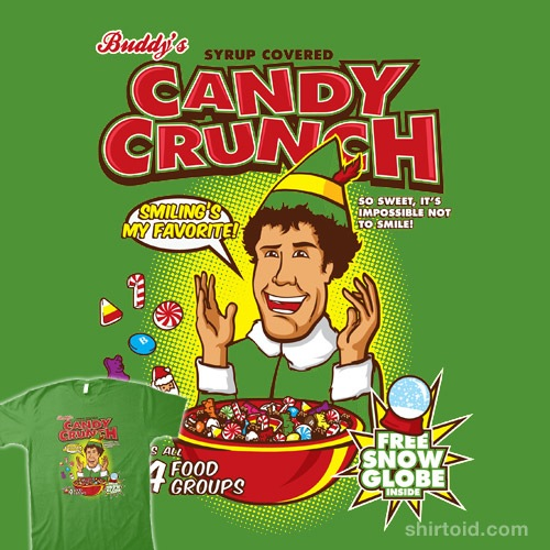 Buddy's Candy Crunch t-shirt