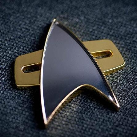 Star Trek Voyager Communicator Badge Prop Replica
