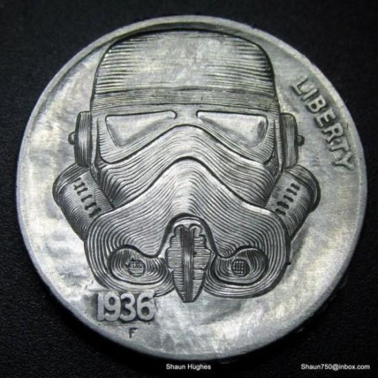 Stormtrooper Hobo Nickel