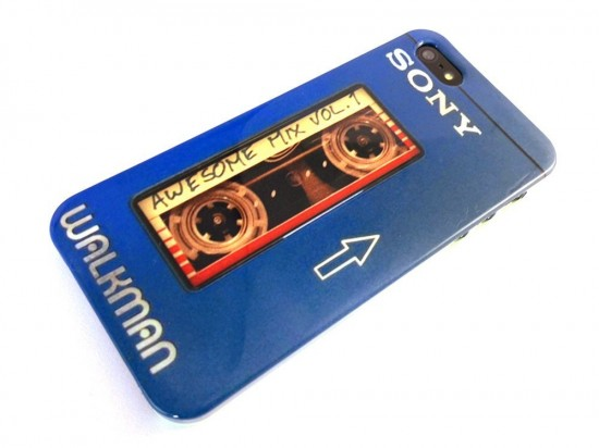 Awesome Mix Vol.1 x Sony TPS-L2 Walkman 1979 iPhone 5/5s Case