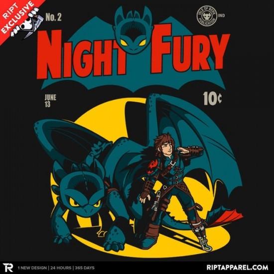 Dark Knight Fury t-shirt