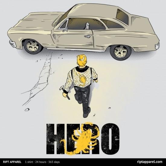 "Akira/Drive-inspired design ""Real Hero"""