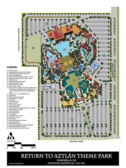 Aztec Theme Park Near Palm Springs