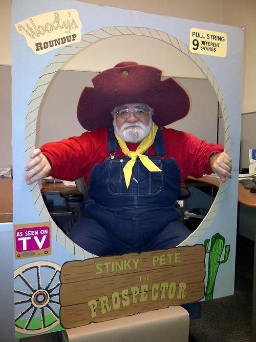 Stinky Pete halloween costume