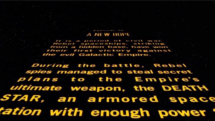 star wars opening crawl