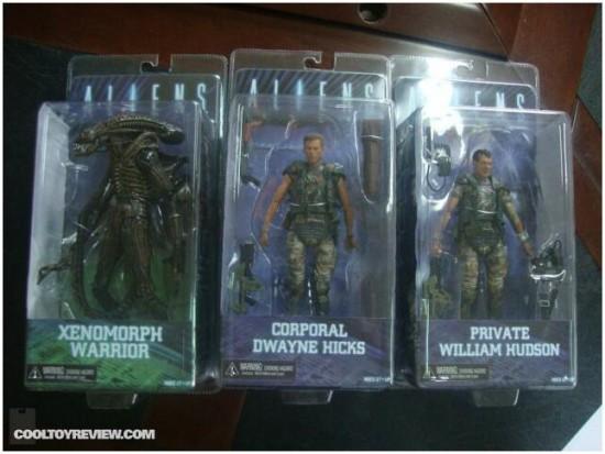 NECA: Aliens Series One Packaging