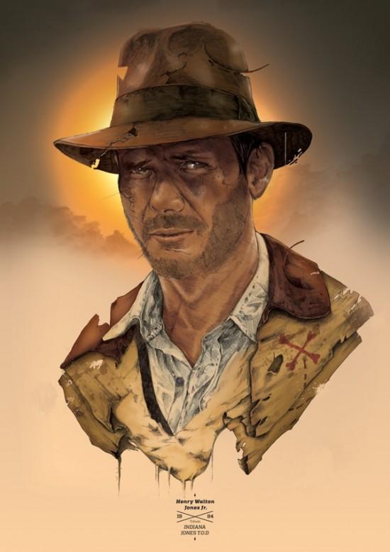 TOMASZ MAJEWSKI – TRIBUTE SERIES 1 - Indiana Jones