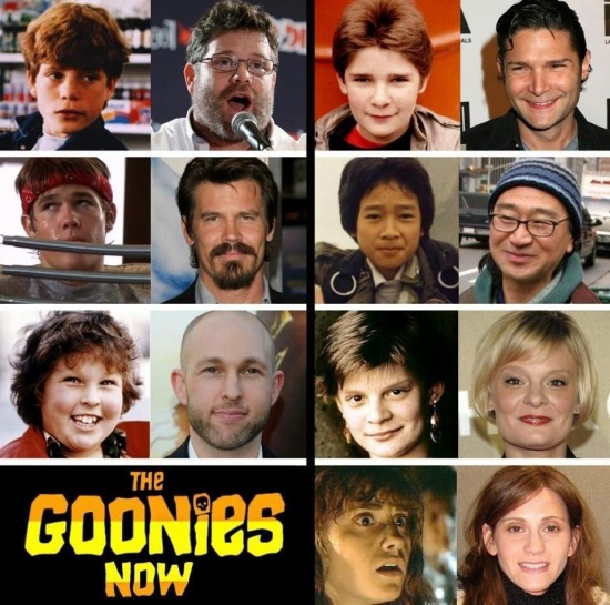 Then and Now: The Goonies