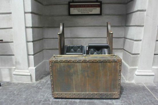 Gringotts Bank test seats