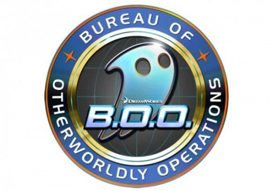 Logo: Dreamworks' Bureau Of Otherworldly Operations