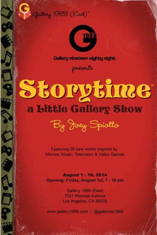 GALLERY 1988 ANNOUNCES JOEY SPIOTTO'S FIRST GALLERY SHOW OPENING ON AUGUST 1, 2014