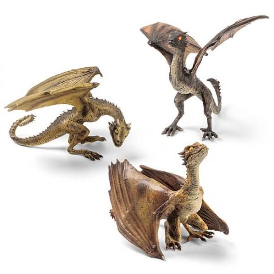 Game of Thrones Dragon Sculptures